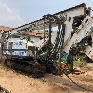 sr 70 soilmec drilling rig